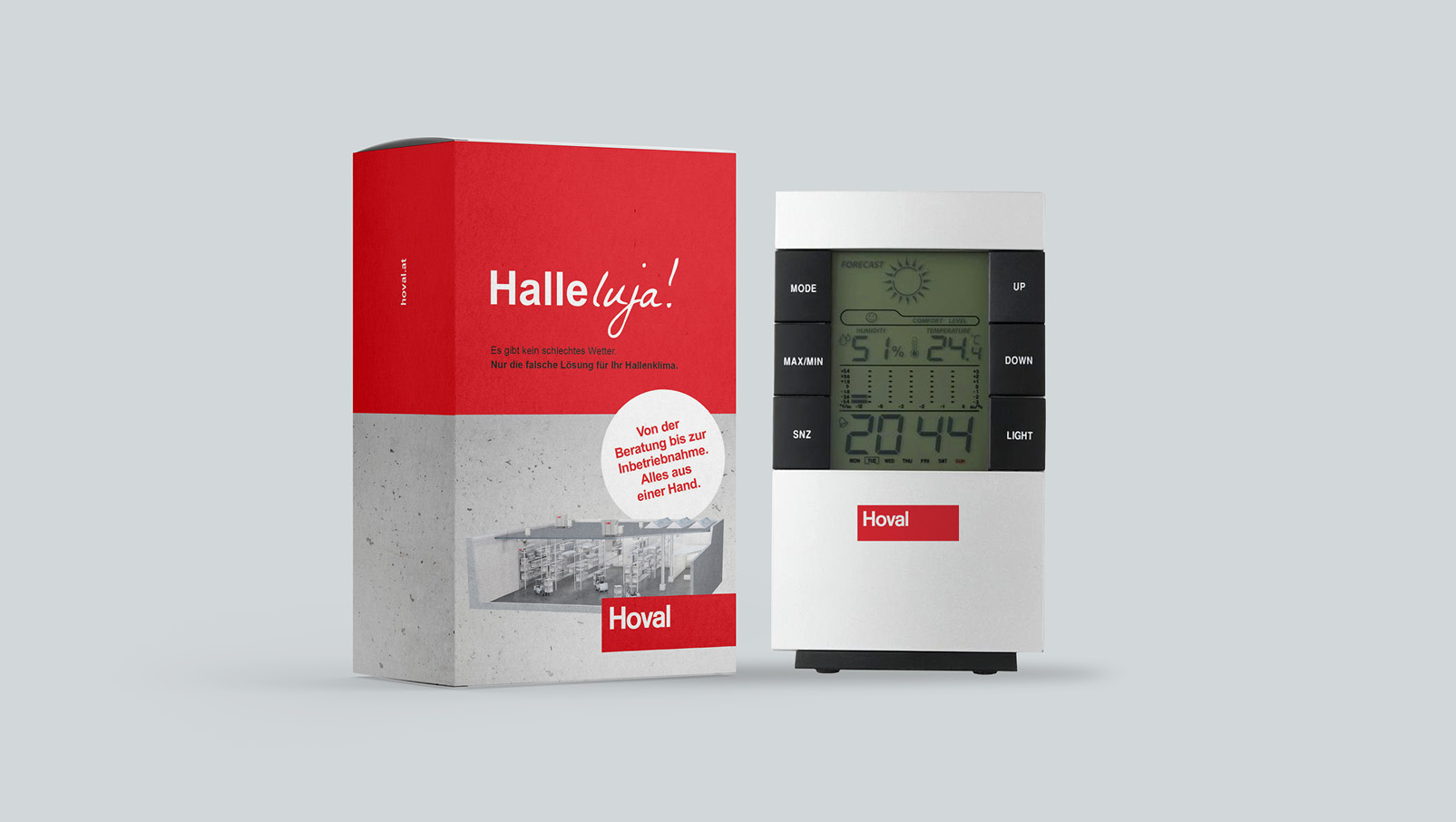 Direct Mailing Wetterstation